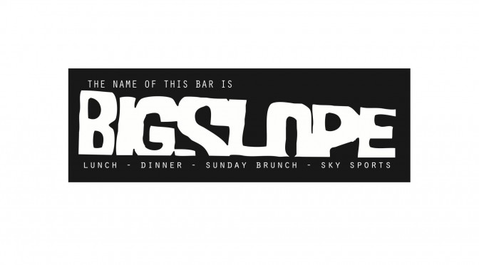 Big Slope Bar – Kelvingrove